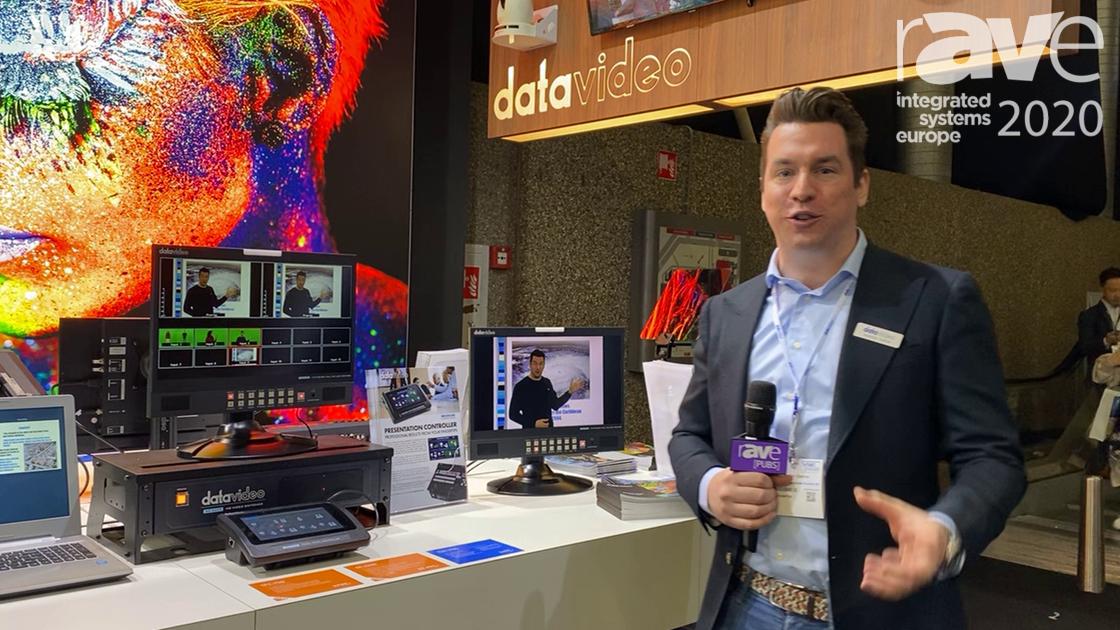 ISE 2020: Datavideo Exhibits TPC-700 Touchpanel Controller