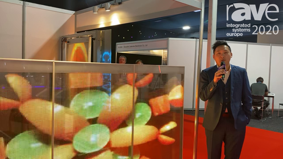 ISE 2020: Guangzhou QiHong Electronic Technology Co. Shows Transparent LED Display Glass