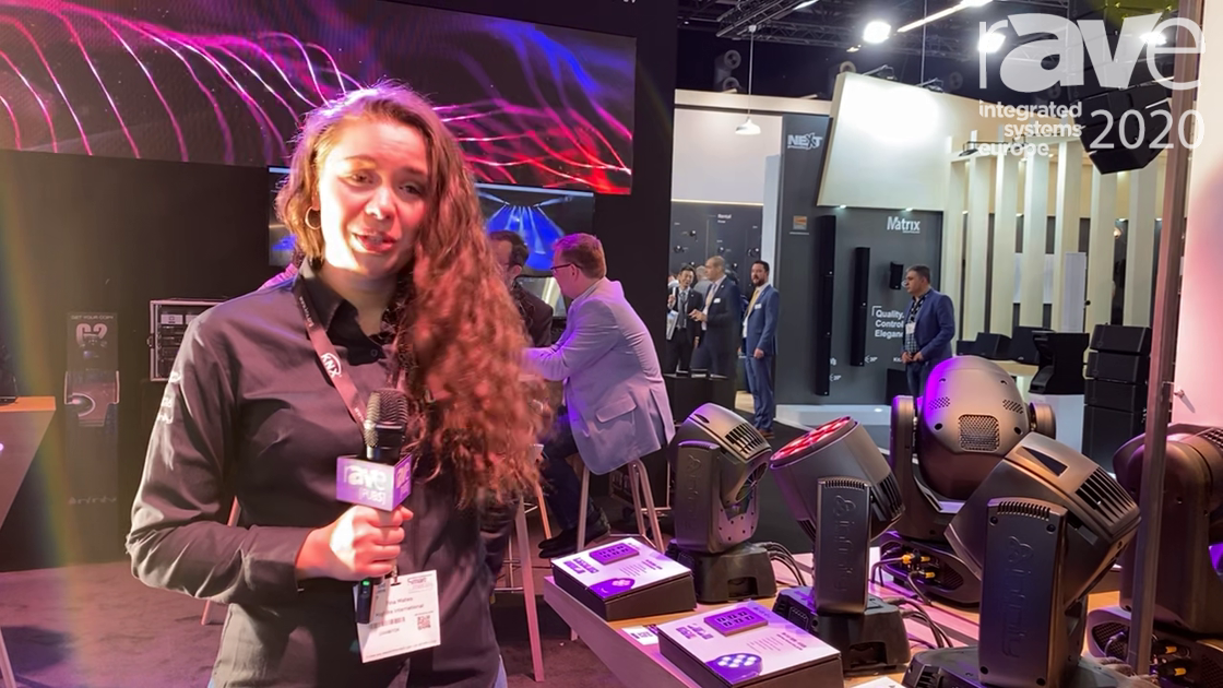 ISE 2020: Highlite International Talks RDM RGBW Infinity Wash Fixtures with Electronic Zoom
