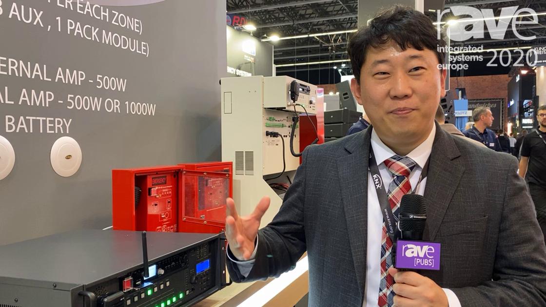 ISE 2020: JD-Media Exhibits JEVAC-5008 Evacuation Voice Alarm Controller