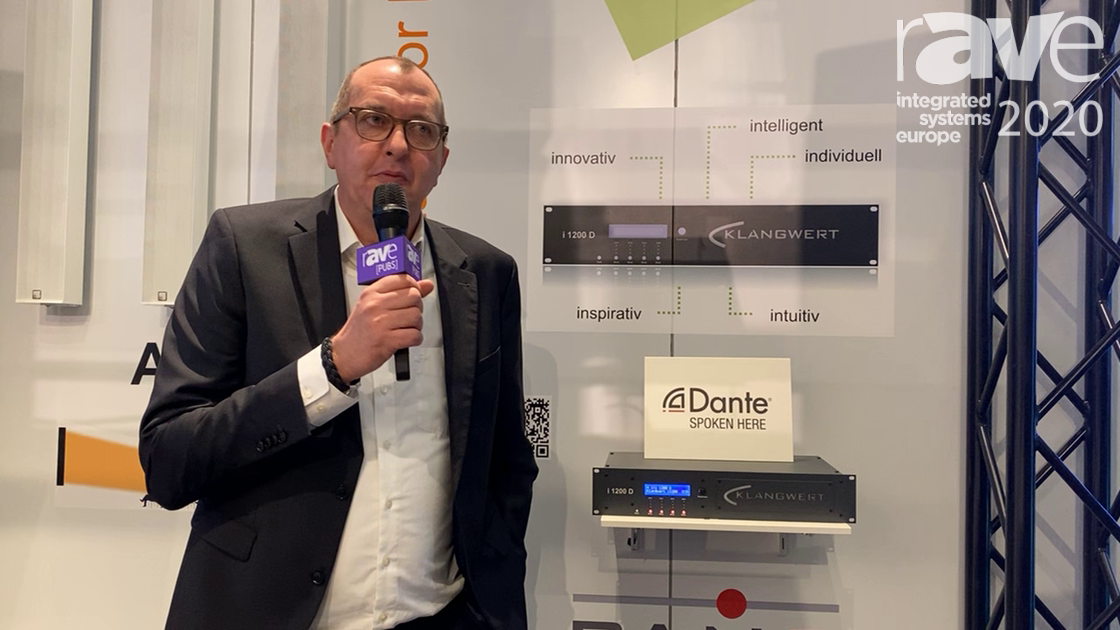 ISE 2020: Klangwert Discusses Dante-Enabled i 1200 D Amplifier