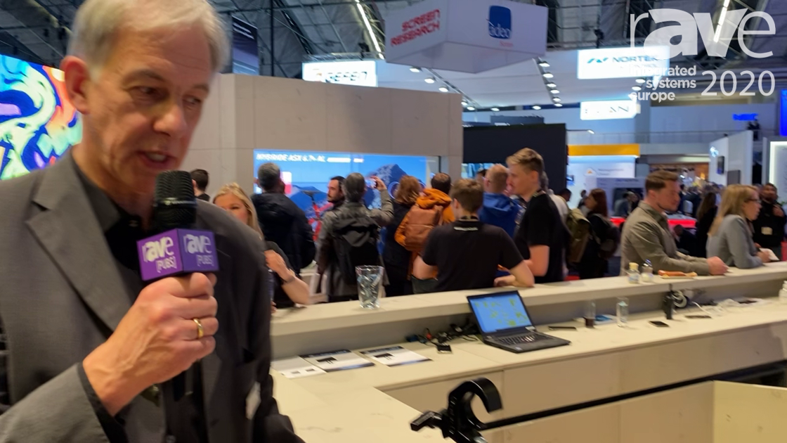 ISE 2020: EXACT solutions Showcases EVO-LINK Clamps for Projectors in LANG AG Stand