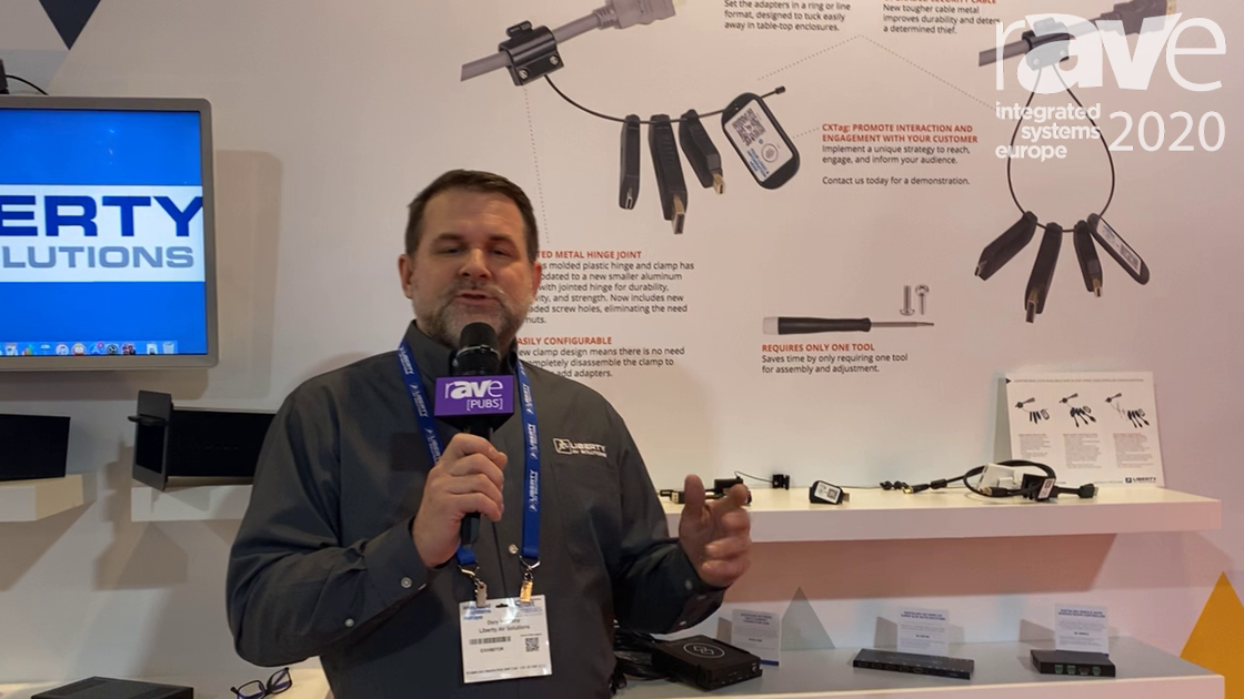 ISE 2020: Liberty AV Showcases Upgraded Adapter Ring 2.0 and Free Ring Support Through TELEPORTIVITY