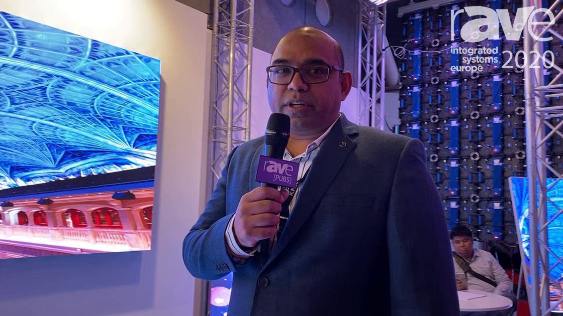 ISE 2020: Lightbeam and Shenzhen ATENTI Demo Flexible LED Modules and 2.5mm Dance Floor