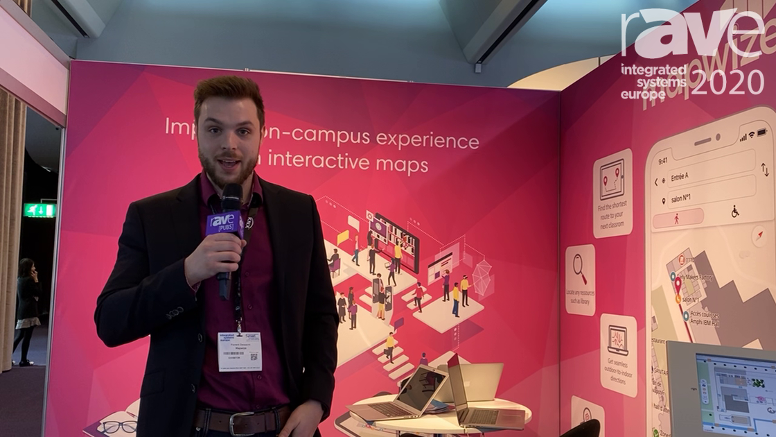 ISE 2020: Mapwize Highlights Indoor Maps, Touch Kiosk and Cloud Solution for Building Wayfinding