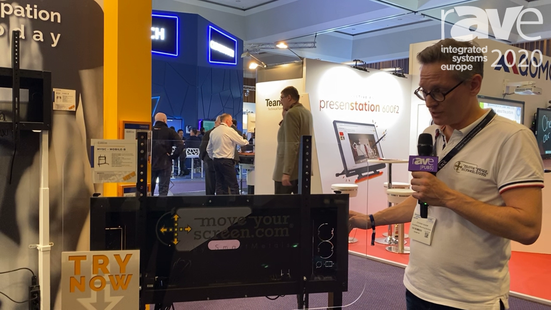 ISE 2020: SmartMetals Highlights MoveYourScreen.com MYSC – MOBILE-B Mounting Solution for Education