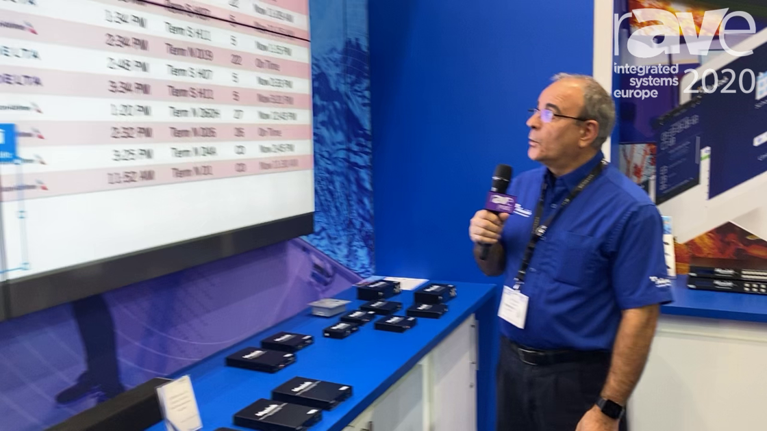 ISE 2020: MuxLab Explains 4K HDMI over IP H.264/H.265 System for Video Walls