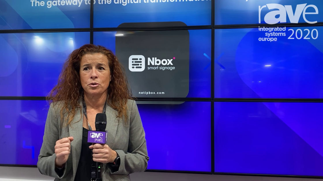 ISE 2020: Netipbox Illustrates Nbox Smart Signage, Software for Video Content Management