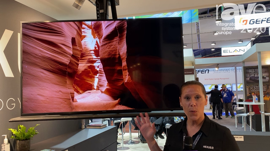 ISE 2020: Nexus 21 Presents 75ix Mount System with 52-Inch Travel Distance