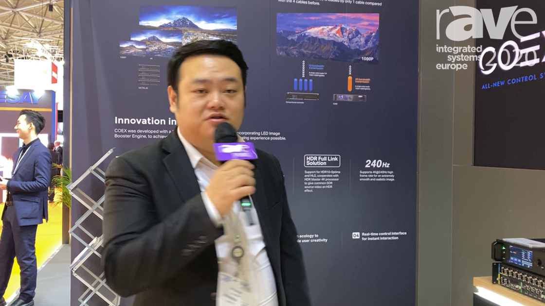 ISE 2020: Novastar Tech Reveals COEX Control System Including 8K Hardware and Software Solutions