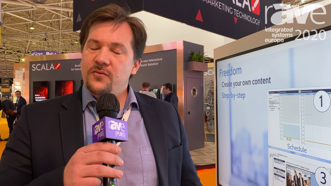 ISE 2020: Easescreen Demos All-in-One Digital Signage Software for Interactive, Flexible Content