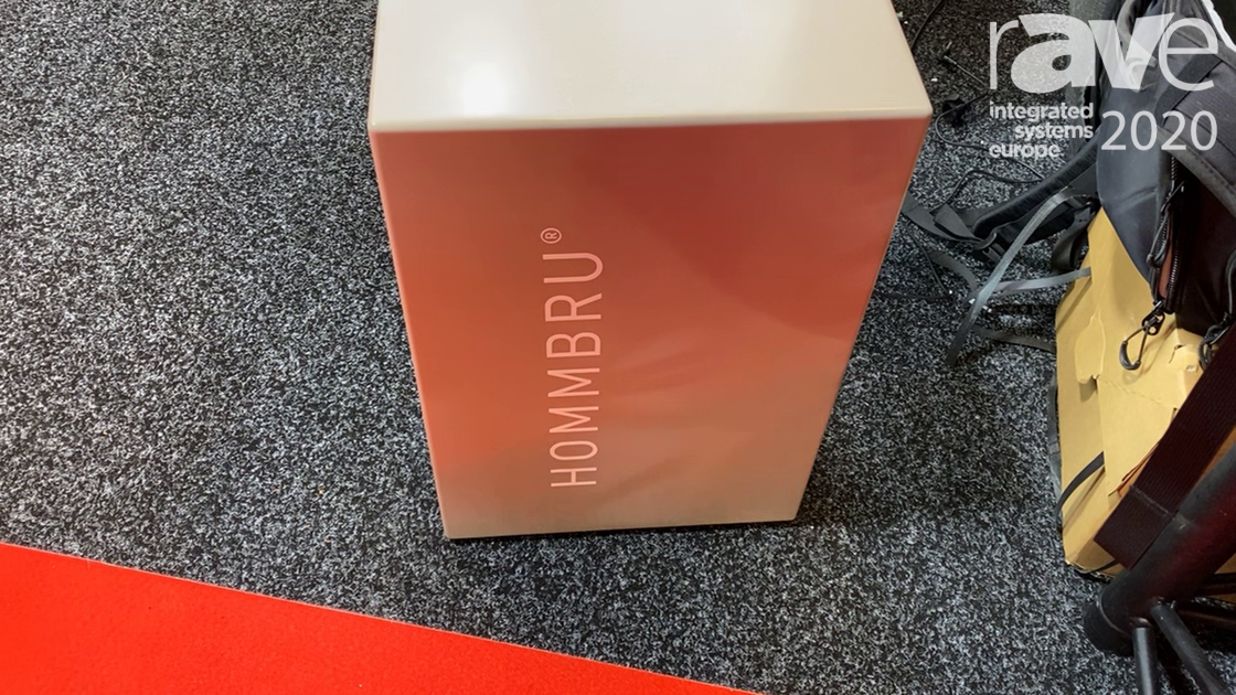 ISE 2020: HOMMBRU Explains Its Invisible Loudspeakers, Sound Integration Into Solid Surfaces