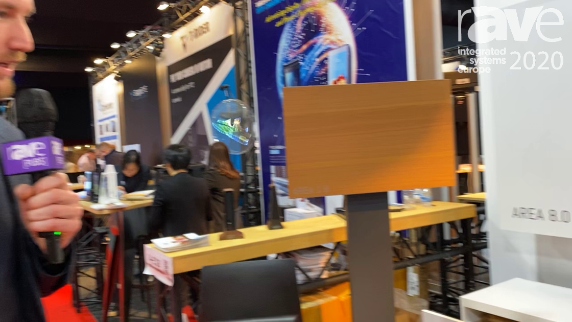 ISE 2020: HOMMBRU Showcases Invisible Speakers, Behind-Wall Sound Integration into Solid Surfaces