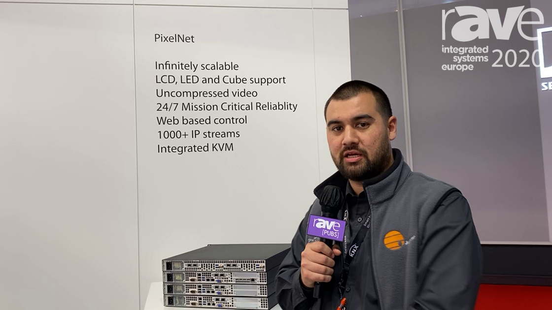 ISE 2020: Jupiter Shows Off PixelNet Gen II, Integrated System for Uncompressed 4K Video and Audio