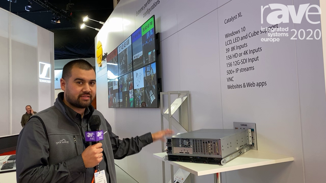 ISE 2020: Jupiter Talks Catalyst XL Video Wall Processor for Mission-Critical Applications
