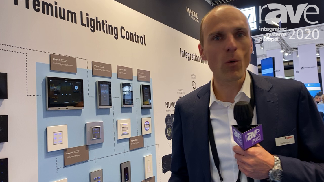 ISE 2020: Legrand Integrated Solutions Highlights Solutions for Premium Lighting Control