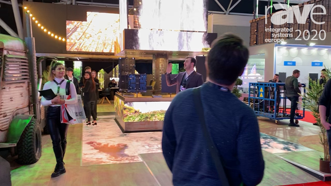 ISE 2020: Lightlink Welcomes Visitors to Stand Experience with Transparent Display Products