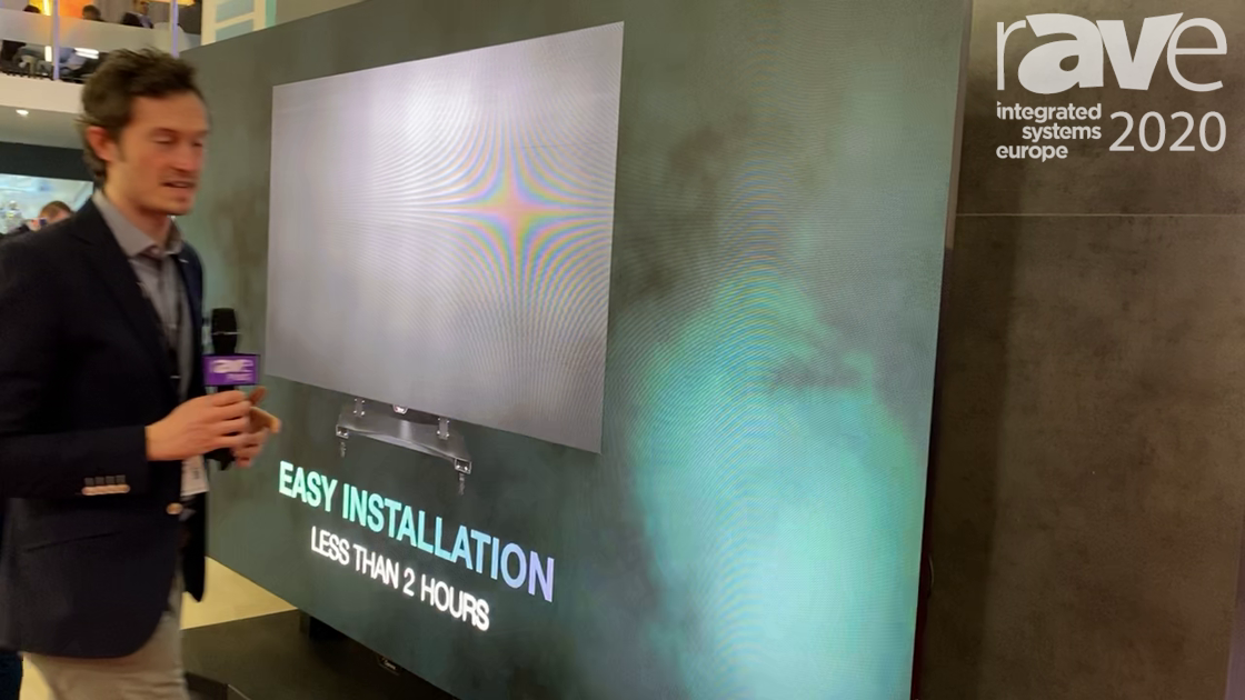 ISE 2020: Optoma Showcases the Quadzilla 163″ All-in-One LED Display With 1.875 Pixel Pitch