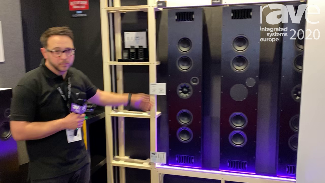 ISE 2020: PMC Speakers Showcases Award-Winning CI Series Speakers With Transmission Line Technology