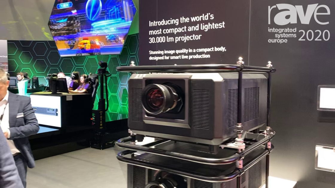 ISE 2020: Panasonic Intros the PT-RQ35K Small, Light 30K-Lumen Red/Blue Laser Projector