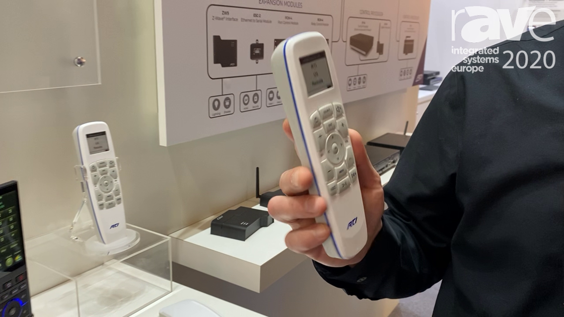 ISE 2020: RTI Details U3 Weatherproof Remote Control Unit and Charging Dock