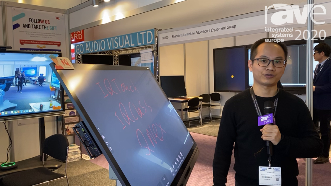 ISE 2020: Returnstar Interactive Technology Group Co., Ltd. Demos iQ Touch Collaboration Board