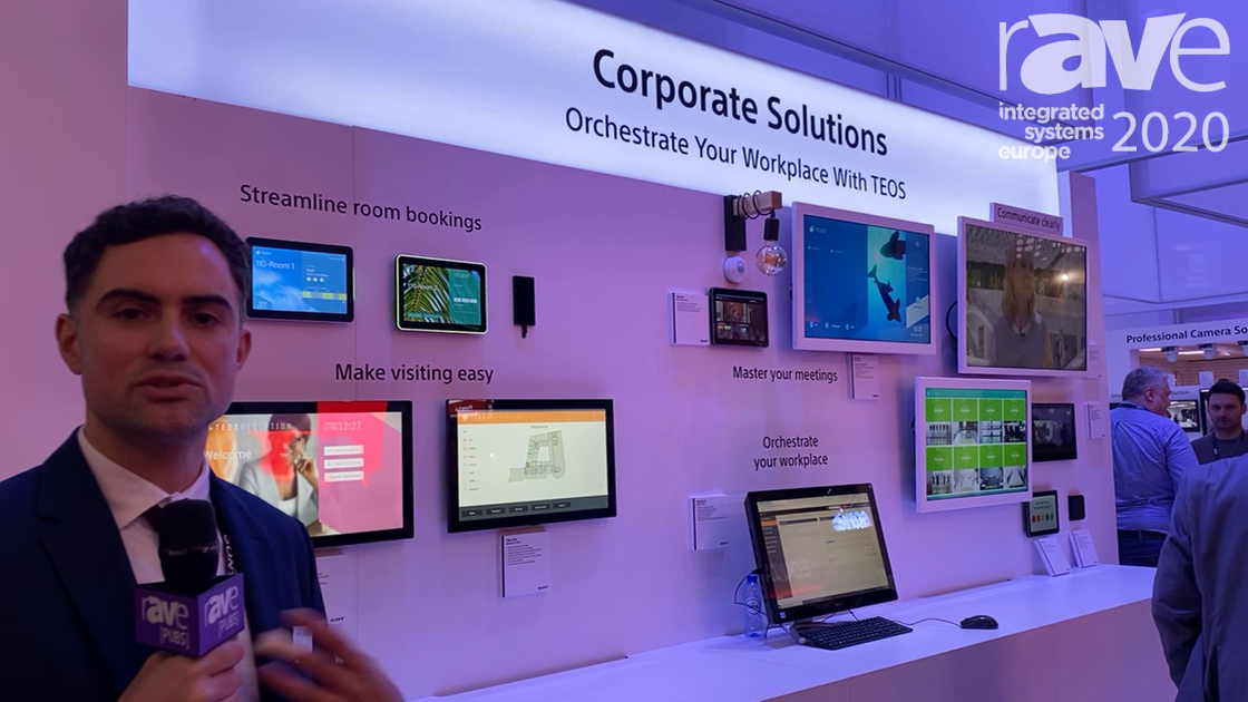 ISE 2020: Sony's TEOS Workplace Solutions Offers Workplace Technology Solutions for AV/IT Managers