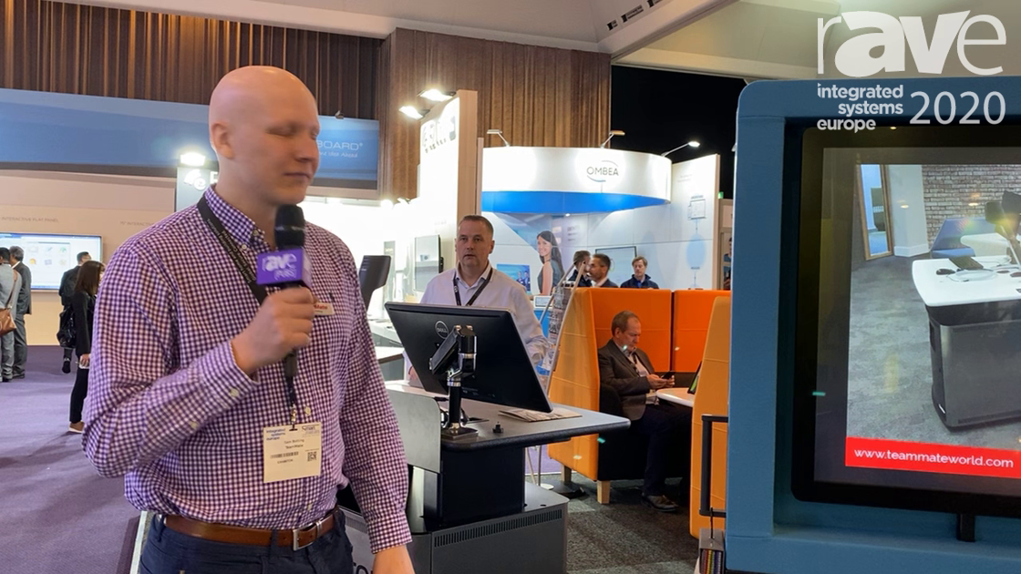 ISE 2020: TeamMate Showcases Evolve Mobile Partitioning System with Internal 19-Inch Rack