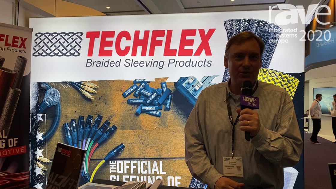 ISE 2020: Techflex Shows Flexo Mounting System, 2-Piece Clip for Braided Sleeving Wire Protection