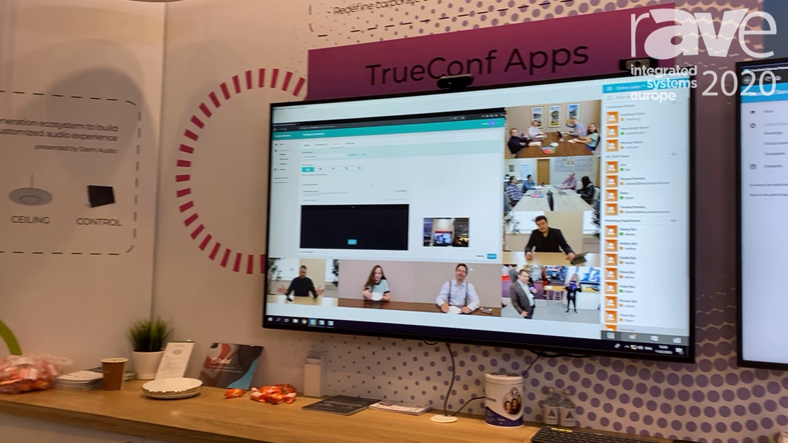 ISE 2020: TrueConf Discusses Client Application with 4K and UHD Real-Time Video Conferencing Support