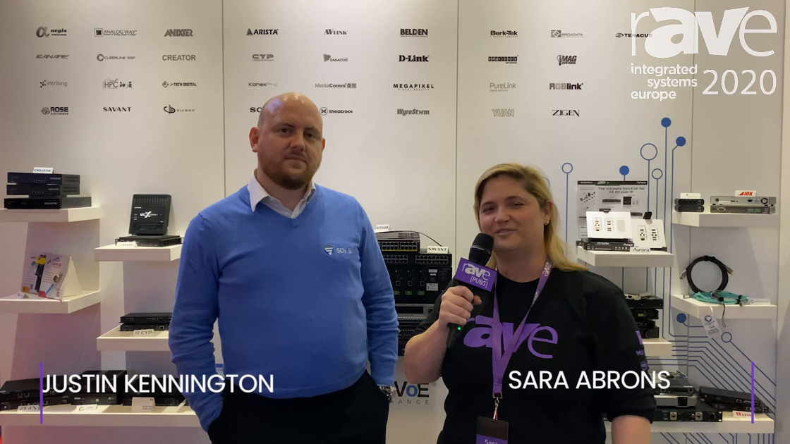 ISE 2020: Sara Abrons Interviews Justin Kennington of the SDVoE Alliance