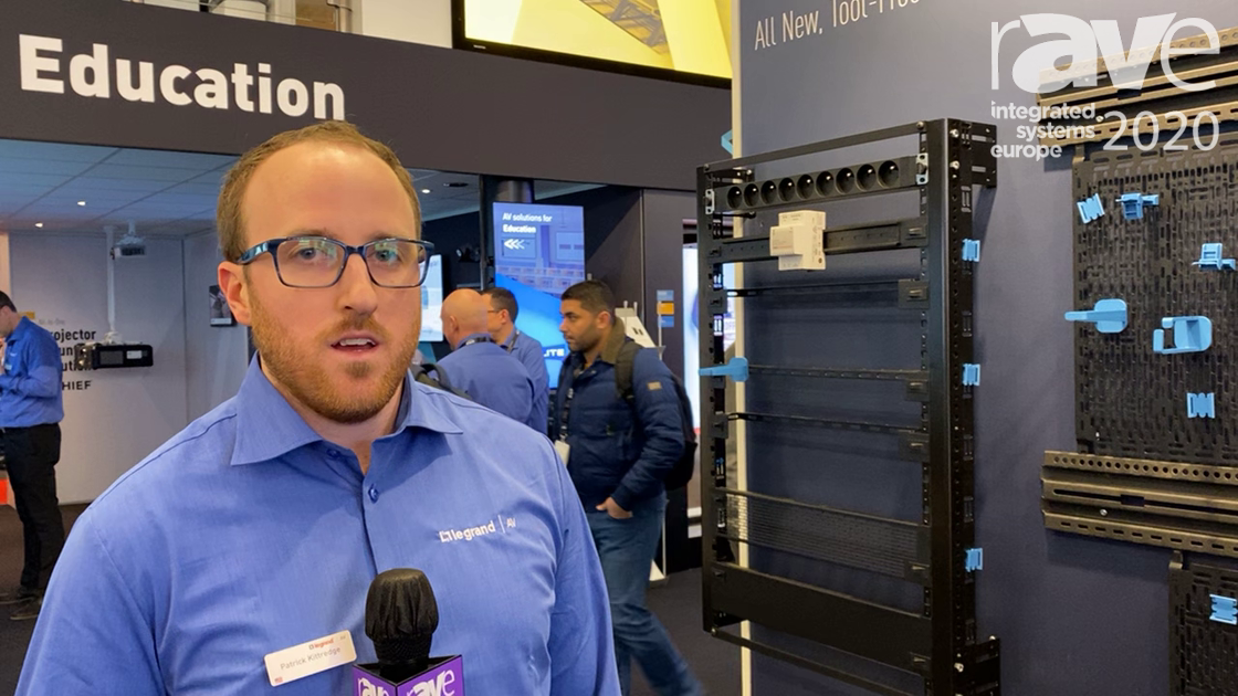 ISE 2020: Middle Atlantic Discusses Forward, Family of Rack Mounting Solutions in Legrand Stand