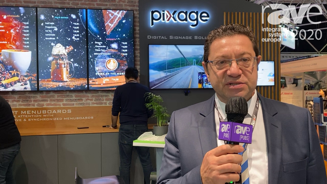 ISE 2020: Pixage Demos Its Digital Signage, Personalized Advertising Solutions in KocSistem Stand