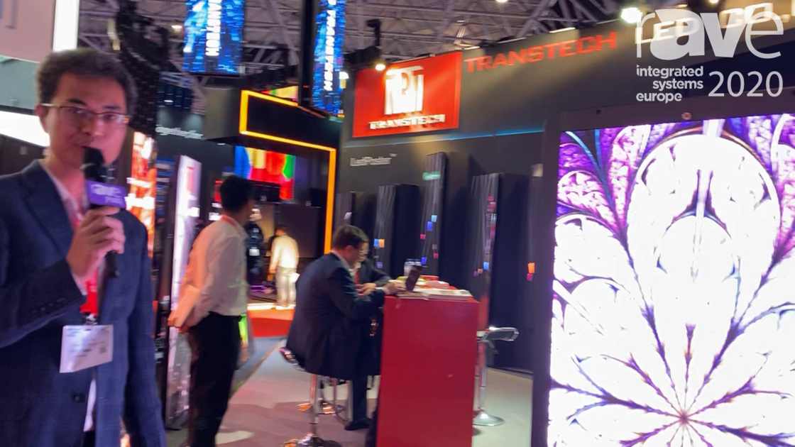 ISE 2020: TransTech LED Features Outdoor Poster
