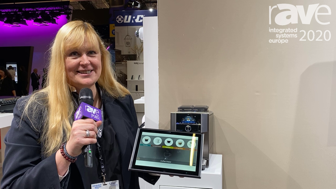 ISE 2020: URC Demonstrates Its Home Connect Enabled Automation on TKP 9600