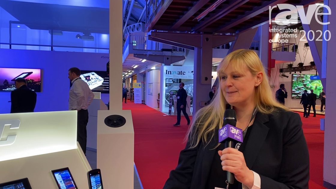 ISE 2020: URC Discusses Its TRC 1480 Remote with Alexa