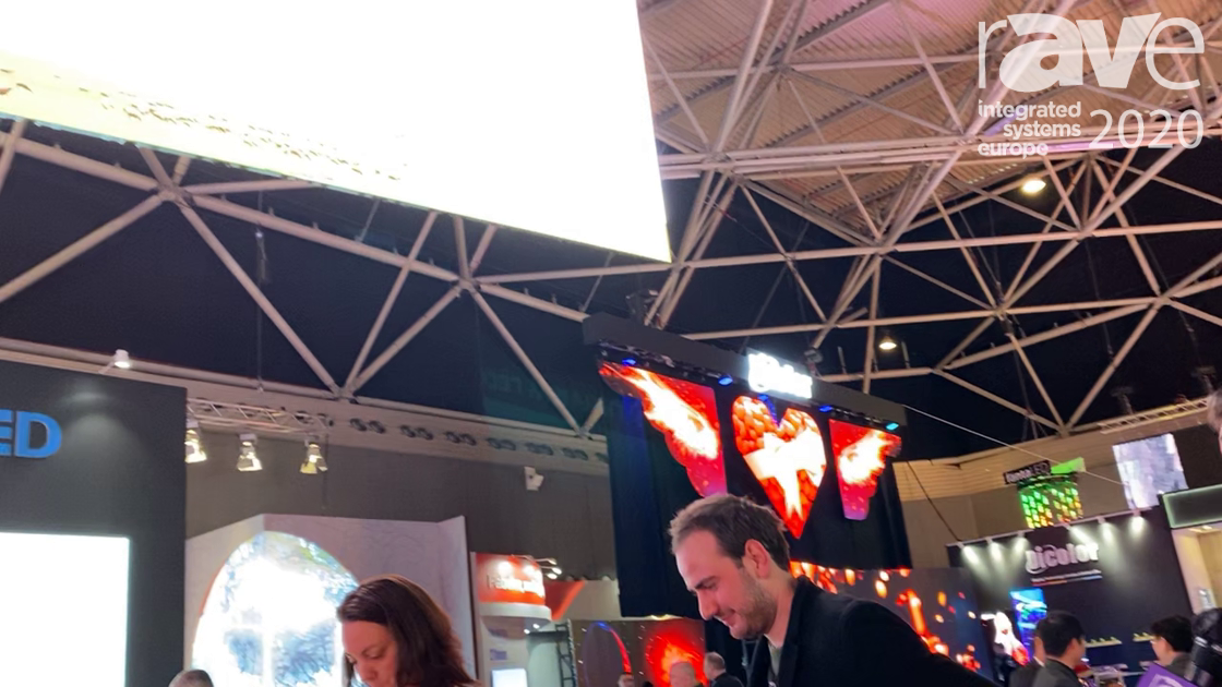 ISE 2020: Uniview LED Shows Us the InnoPro Outdoor Display
