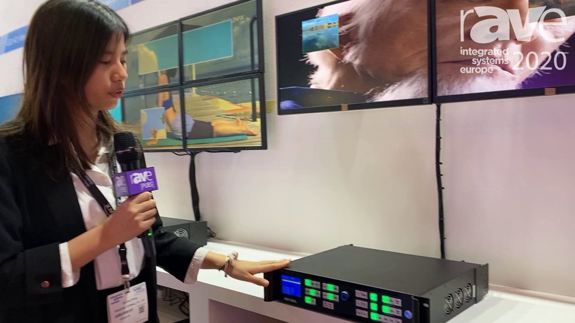ISE 2020: VDWALL Highlights Its A63 4K Processor With HDMI Output
