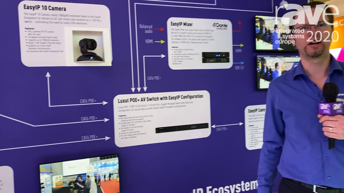 ISE 2020: Vaddio Showcases Its EasyIP AV-Over-IP Ecosystem for Conferencing and Higher Education