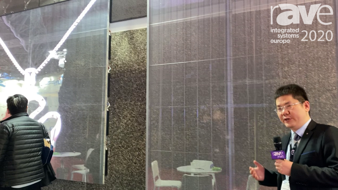 ISE 2020: YDEA Shows Off Its New Transparent Screens
