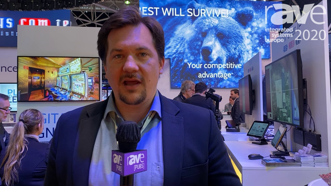 ISE 2020: Easescreen Demonstrates the Power of Its Digital Signage Software