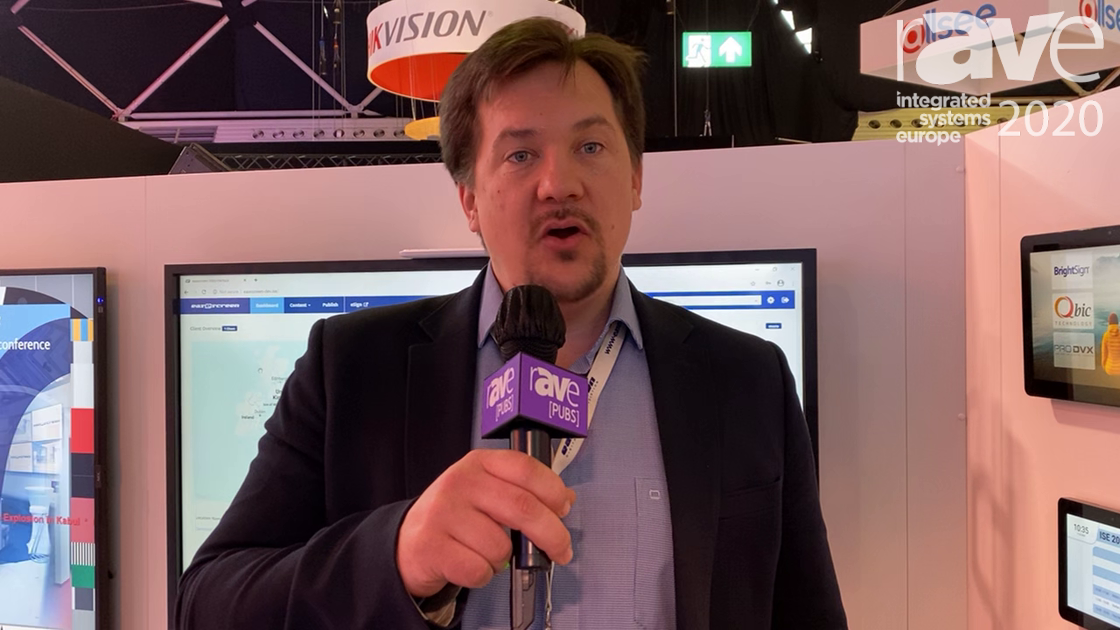ISE 2020: Easescreen Goes Over Its Line of Room Booking Solutions