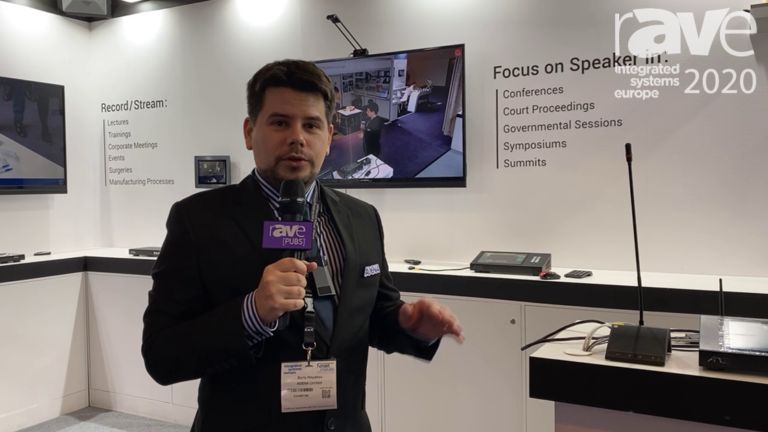ISE 2020: AREC Talks About Its CI-T25 Auto-Tracking Camera System