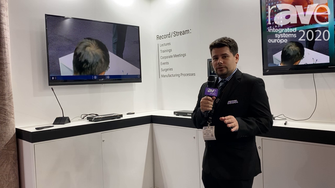 ISE 2020: AREC Shows Its DS-4CU Speaker Tracking System