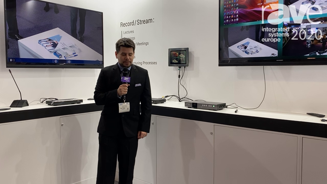 ISE 2020: AREC Shows Off Its DS-X01 Touch Screen Display