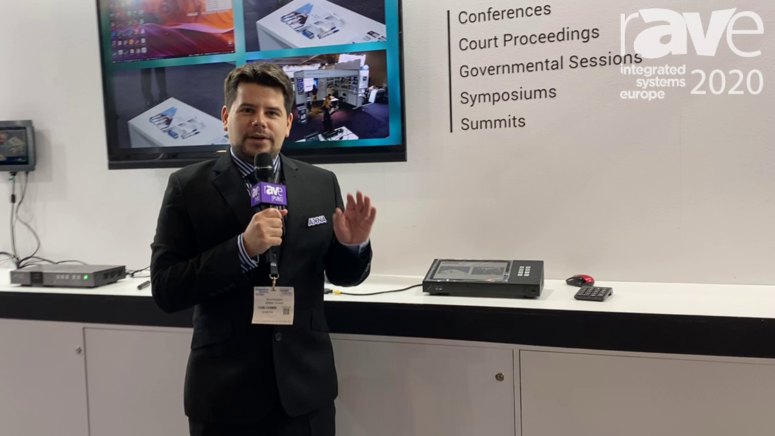 ISE 2020: AREC Talks About the Updated KL-3 Streaming Device