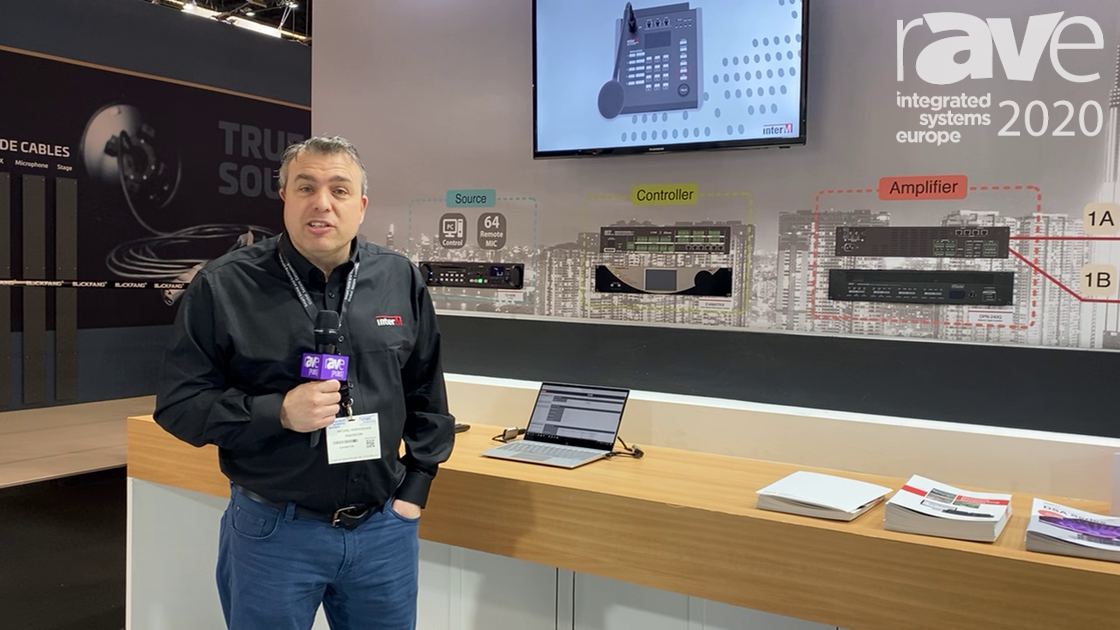 ISE 2020: Inter-M Explains the EVAMATRIX Dante Protocol That's EN54 Certified