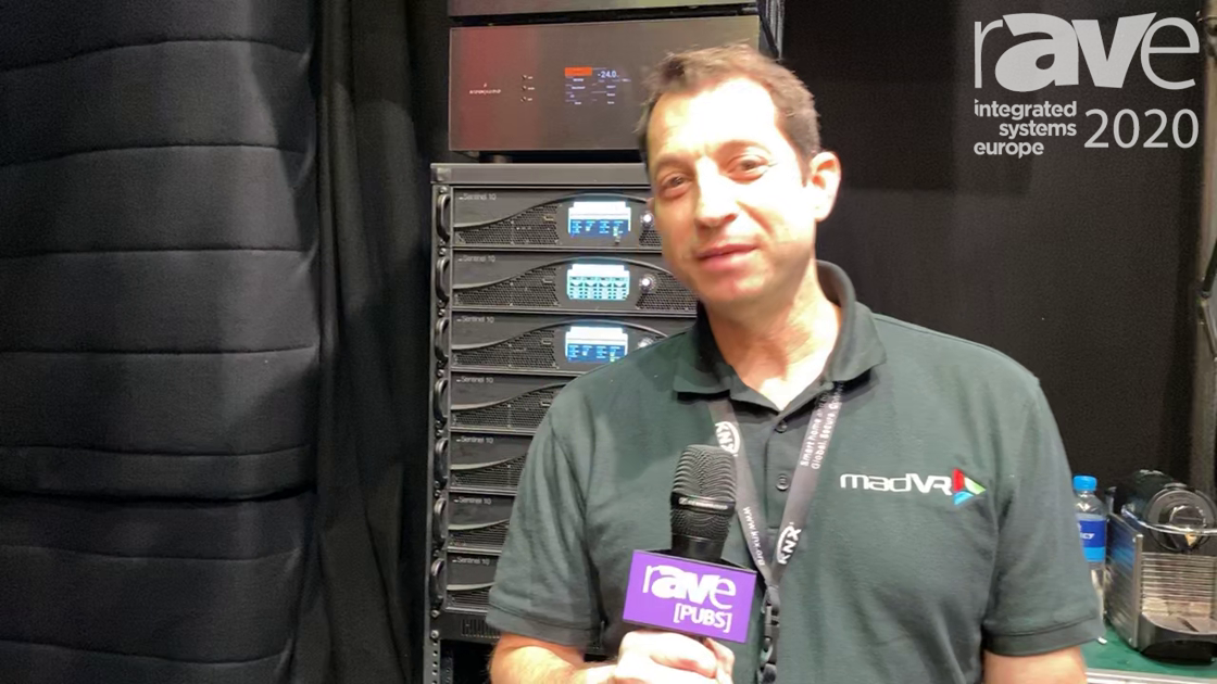 ISE 2020: madVR Labs Features the Envy Video Processor With 4K HDR Dynamic Tone Mapping