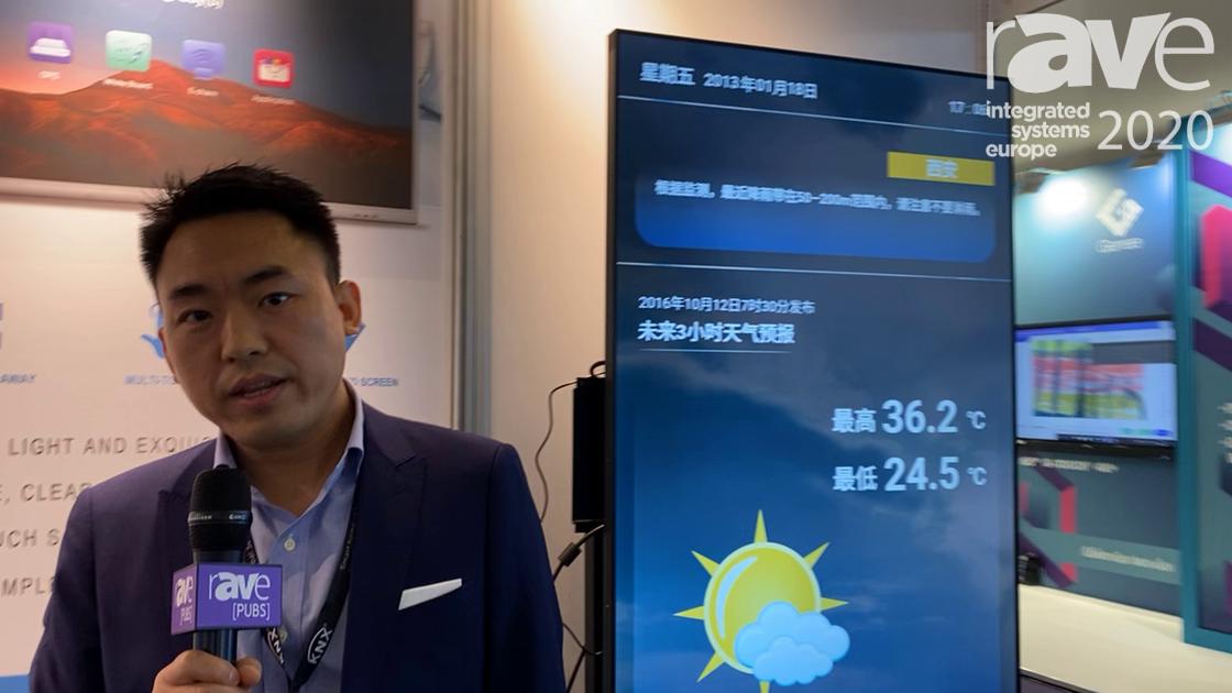 ISE 2020: Makena Intros M7DS55 4K Digital Signage Display