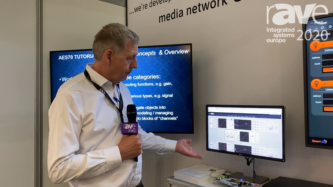 ISE 2020: Profusion Talks About AES70 Remote Control on the OCA Alliance Stand
